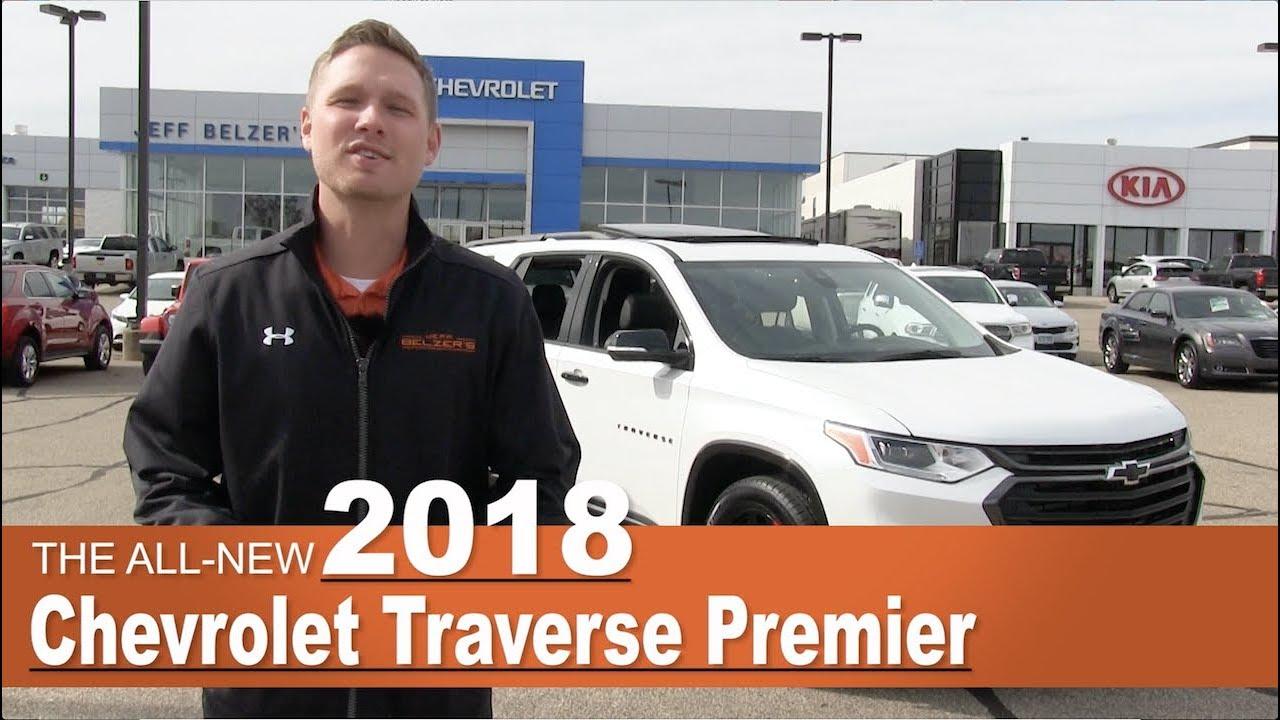 Jeff Belzer New Prague >> All-New 2018 Chevrolet Traverse Premier Redline   Lakeville, New Prague, Mpls, St Paul, MN - YouTube