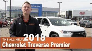All-New 2018 Chevrolet Traverse Premier Redline | Lakeville, New Prague, Mpls, St Paul, MN