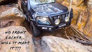 NOTORIOUS 4X4 - Cut Rock, Watagans NSW - 2018 Toyota Prado VX eats it