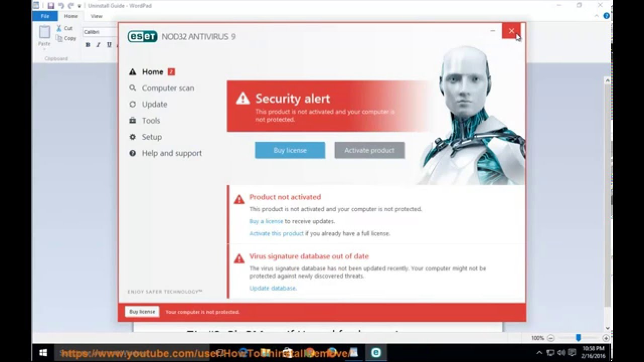 Legendary antivirus