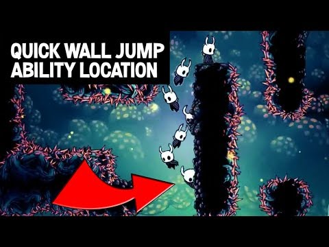 Hollow Knight- How to Find Wall Jump (Mantis Claw) Ability- Step by Step Guide