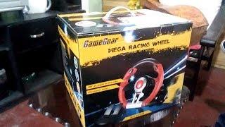 Unboxing GameGear Mega Racing Wheel PS3/PS4/Xbox/PC