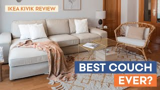 IKEA Kivik Sofa Series Review | Pros and Cons of our TOP Favorite Couch