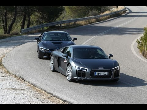 Audi R8 V10 Bmw I8 Youtube