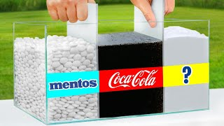 Ultimate Coca Cola vs Mentos Experiment!