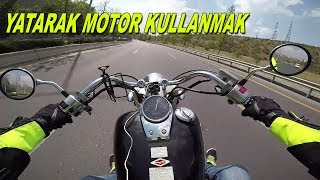 Honda Shadow VT 750 ile Turluyorum | Yatarak Motosiklet Kullanmak | Cruiser Sürmek