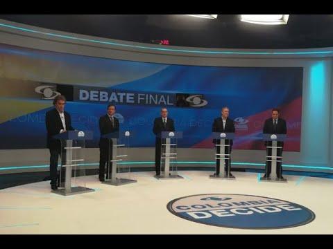 Estos fueron los momentos más destacados del debate presidencial| Noticias Caracol
