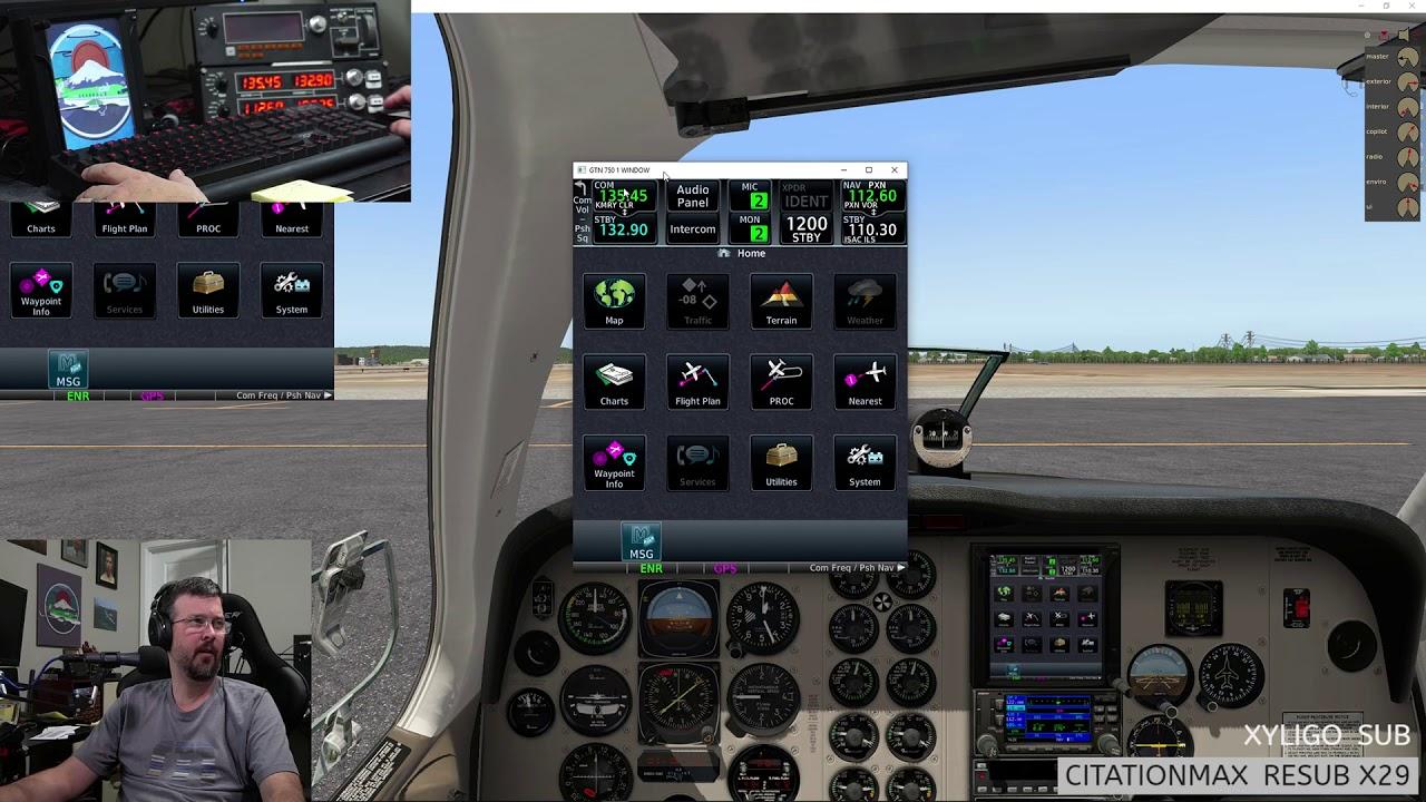 Pilotedge Group Flight KMRY to M90 - FSEconomy for Snak Air