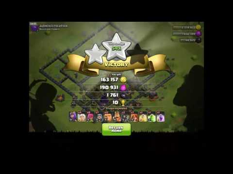 BEST CRYSTAL/MASTER TH9 ATTACK STRATEGY!? | CLASH OF CLANS | FOR LOOT AND TROPHIES!