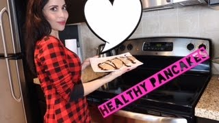MY HEALTHY PANCAKES (twerking in the kitchen) PANCAKES SUPER SALUDABLES