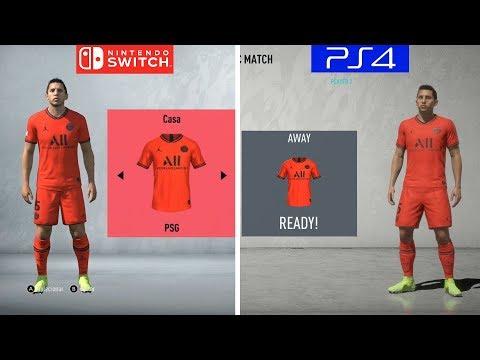 FIFA 20 | Nintendo Switch VS PS4 | Graphics Comaprison