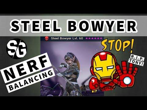 Скачать [RAID SHADOW LEGENDS] NERF / BALANCING - STEEL BOWYER - STOP  LEVELING HER FOR NOW - смотреть онлайн - Видео