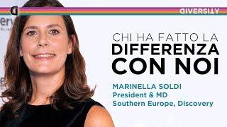 Chi ha fatto la differenza con noi | Marinella Soldi, Discovery Italia