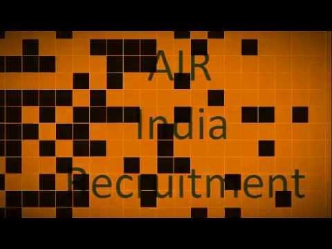 AIR India Ltd. Recruitment (961 vacancies) 2016