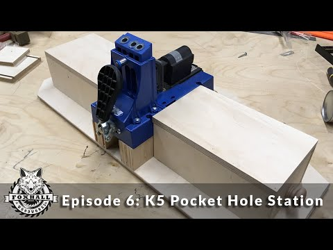DIY | How to Build a Pocket Hole Jig Station | Plans | Ep: 6