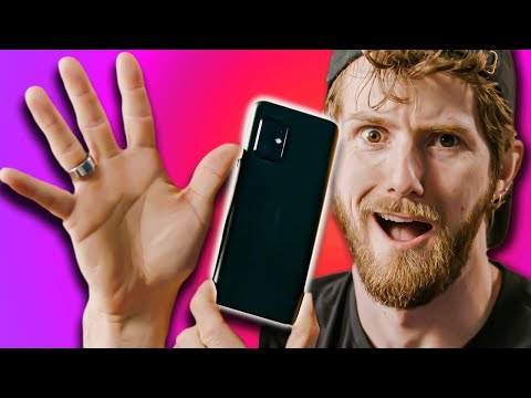 This phone makes my hands look BIG!