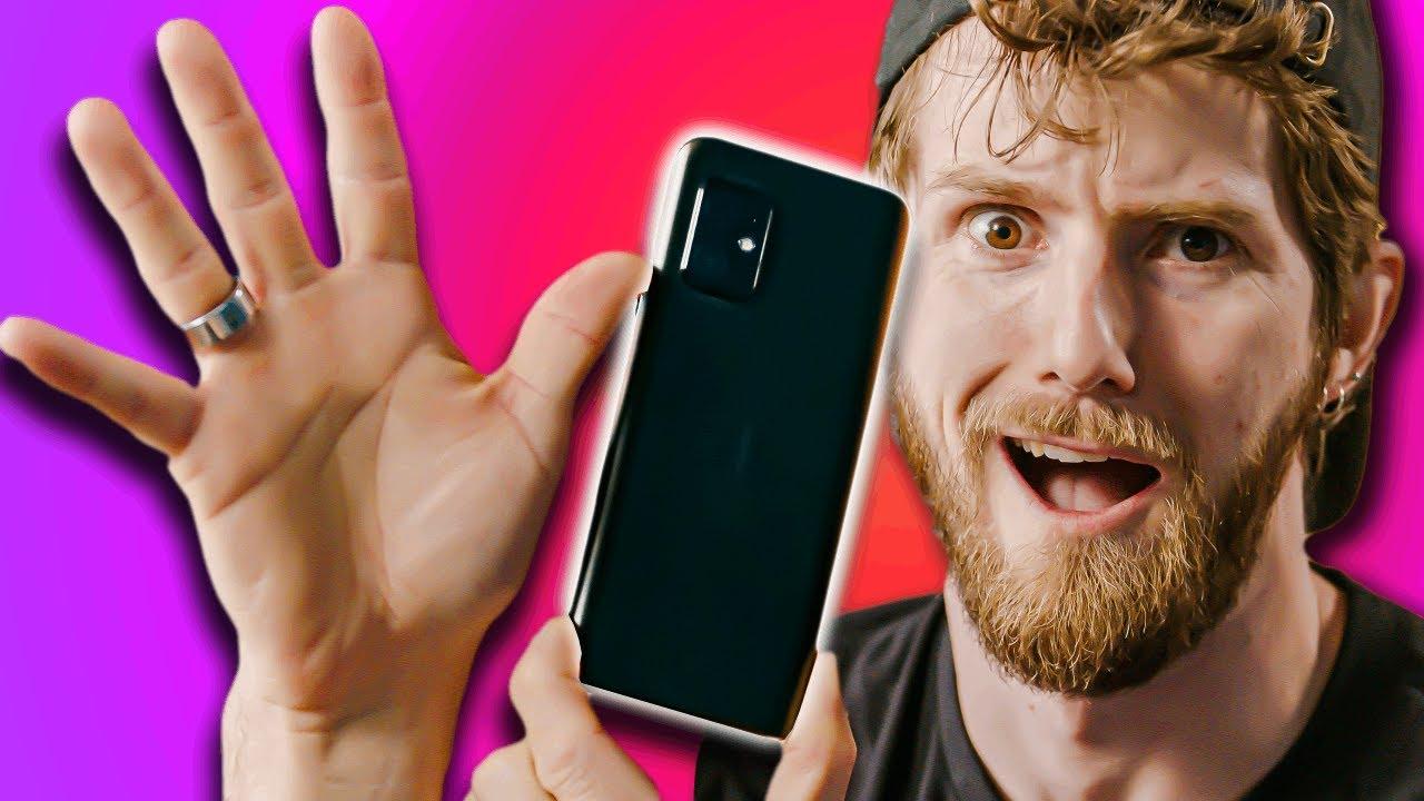 This phone makes my hands look BIG! - ASUS Zenfone 8