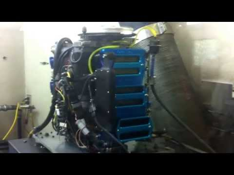 F1 - 2.5 L Mercury Dyno Run (10500 rpm)