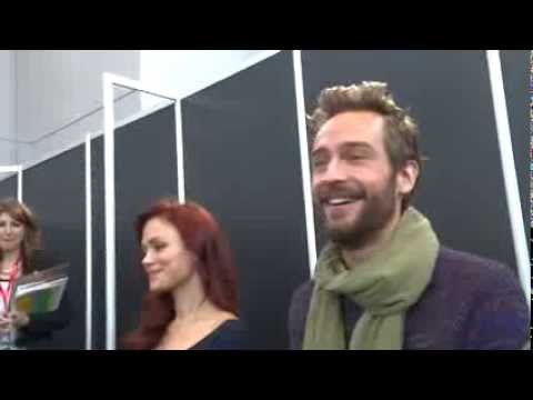 Sleepy Hollow NYCC 2013 press outtakes With Tom Mison Orlando Jones