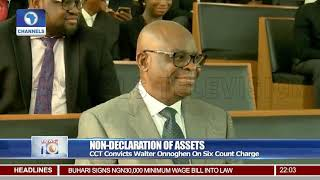 CCT Bans Onnoghen From Holding Public Office For 10 Years