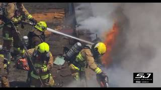 Incendie important dans le Vieux-Québec