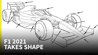 First look at F1's new details for 2021 cars