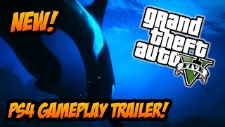 GTA 5 NEW OFFICIAL PS4, XBOX ONE & PC TRAILER! (GTA 5 Next Gen Gameplay) (GTA V PS4 Gameplay)