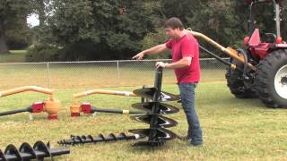 How To Use A Post Hole Digger by Everything Attachments