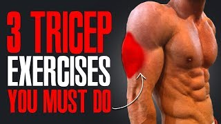 MUST DO EXERCISES! (TRICEPS!)