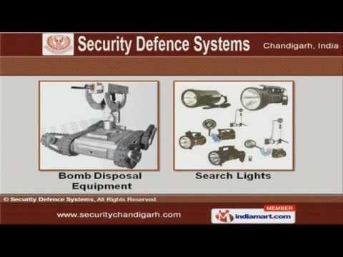 Bomb Detection Equipment by Security Defence Systems, Chandigarh