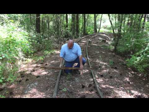 Mystery tool solved railroad track gauge and level for measuring rail  superelevation on curves