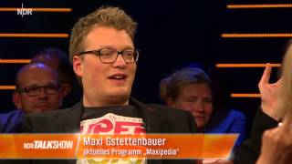 NDR Talk Show: Comedian Maxi Gstettenbauer im Interview
