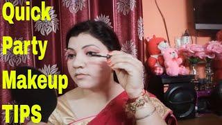 How Can I do Party Makeup At Home/ghar par party makeup kaise kare/Party Makeup/