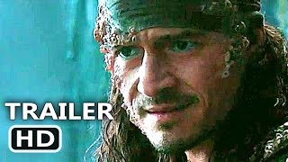 pirates of the caribbean 5 will turner trailer 2017 dead men tell no tales disney movie hd