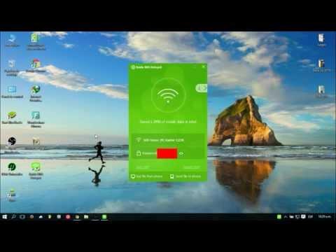 Descargar e Instalar WiFi Hotspot - Baidu PC Faster (Crear Red Wifi Gratis)