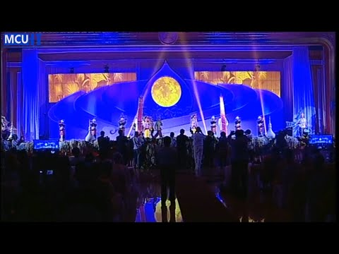 Thai Cultural Show on the Openning Ceremony of Vesak 2015