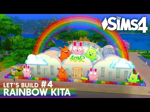 die-sims-4-kita-bauen-|-rainbow-kita-#4:-kuschelecke-&-kindergarten-küche