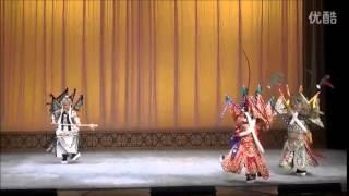 20141221 京劇:反西涼唐愷(飾演馬超) 江峰(飾演曹操) 湖北京劇院演出拍...