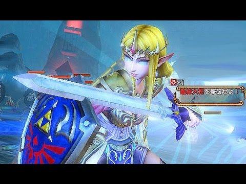Zelda With The Master Sword Hyrule Warriors Skin Swap Glitch Youtube