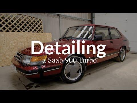 Detailing A Saab 900 Turbo