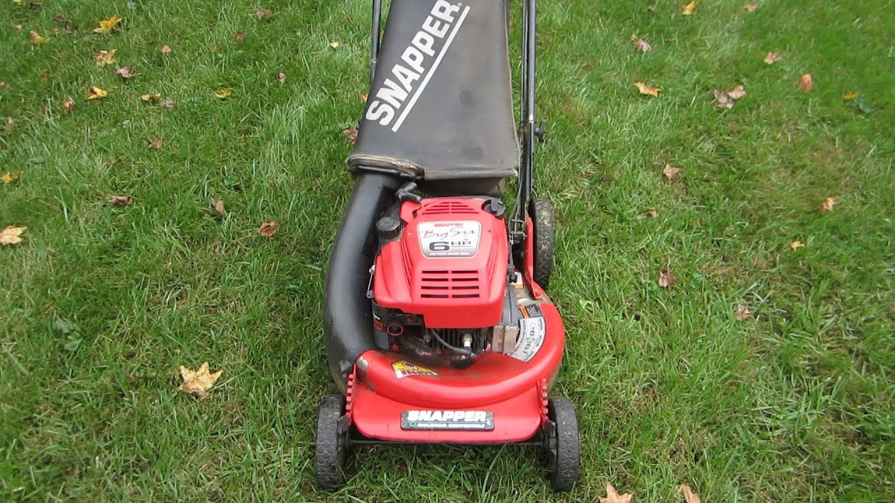 Snapper Lawn Mower Repair Craigslist Find Oct 28 2012