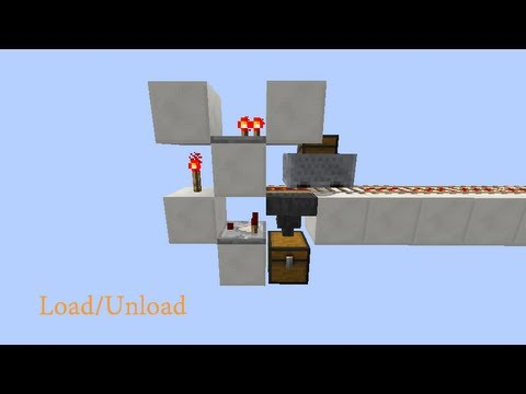 Wide Load Sign >> Simple Minecart Load/Unload Railway System [Quick and Easy] - YouTube
