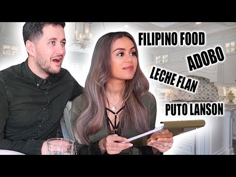 MEET OUR FILIPINO CHEF… | FOREIGNERS THREE COURSE FILIPINO MUKBANG