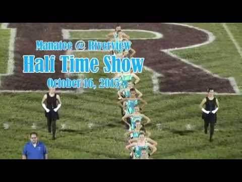 Manatee High School Marching 'Canes Band @ Riverview High School 10/16/2015