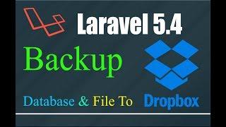 Laravel دروببوإكس النسخ الاحتياطي (L. 5.4) | إنشاء دروببوإكس API