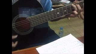 Phía sau ánh mắt buồn [guitar cover]