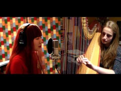 Adele - Million Years Ago (Harp & Voice Cover) ft. J. Fla