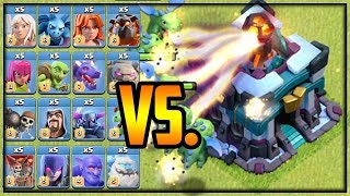 Every Troop vs. MAX GIGA INFERNO! Town Hall 13 Clash of Clans Update!