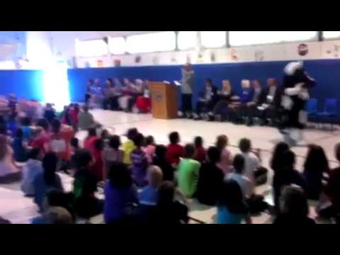 Raw Video: Eastside Elementary assembly