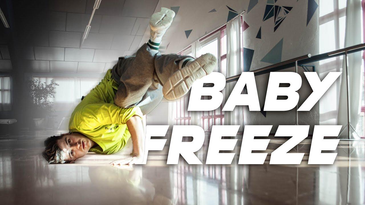 APRENDER BREAK DANCE desde 0   TUTORIAL BABY FREEZE ...